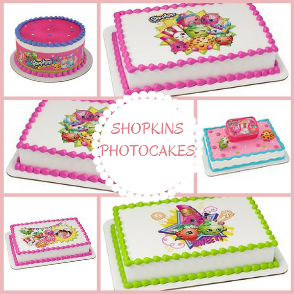 SHOPKINS PhotoCakes
