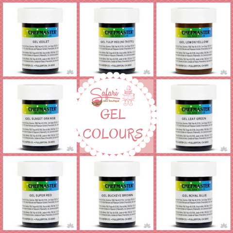 Chefmaster Gel Base Oil Colours