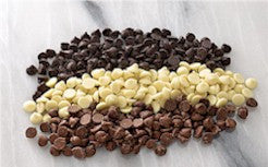 Chocolate Chips - Milk, White or Semi Sweet