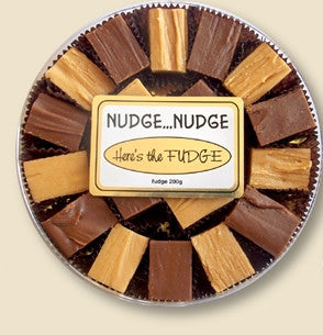 Nudge Nudge Fudge - Vanilla, Maple, Chocolate or Pumpkin