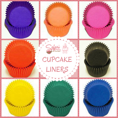 Glassine Coloured Cupcake Liners