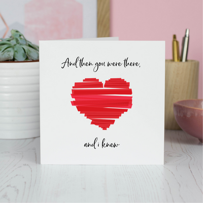 anniversary love card for husband