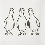 London pigeon illustration by lucy du sautoy