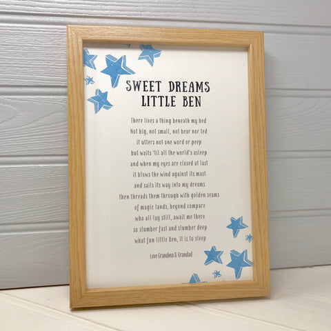 Poem gift for a Child
