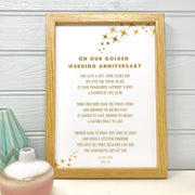 golden wedding anniversary gift for husband