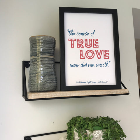 Literary Love Quote Print