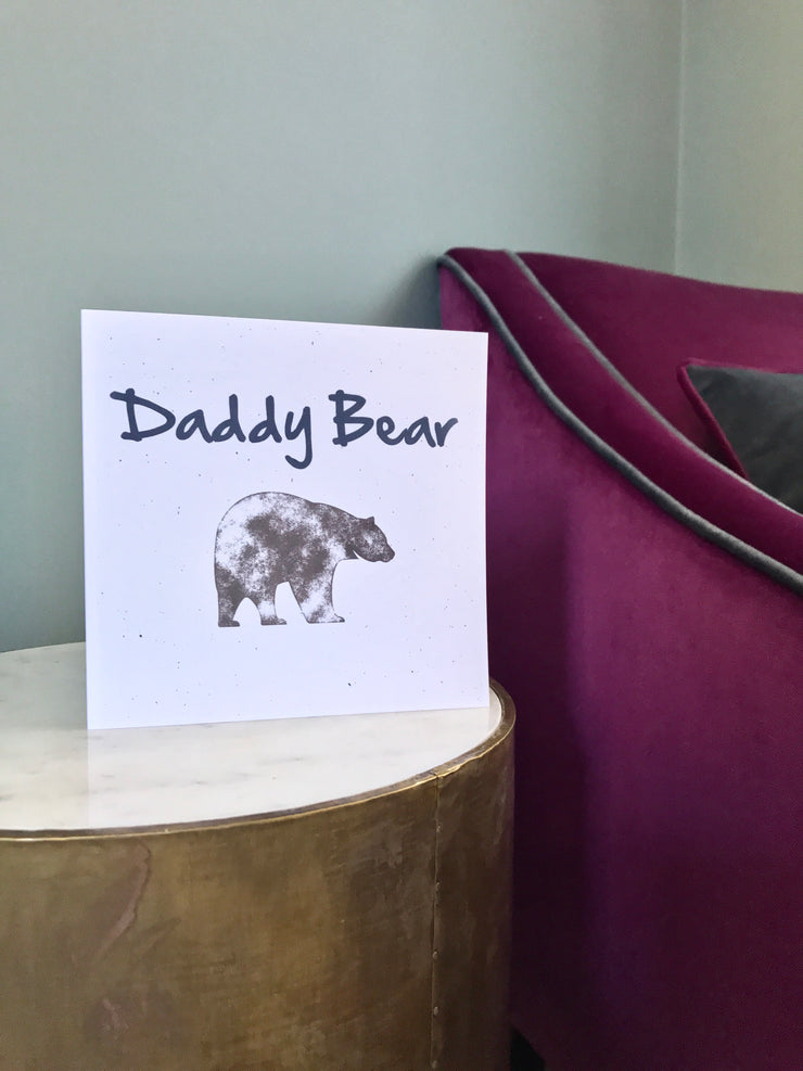 first fathers day card for daddy