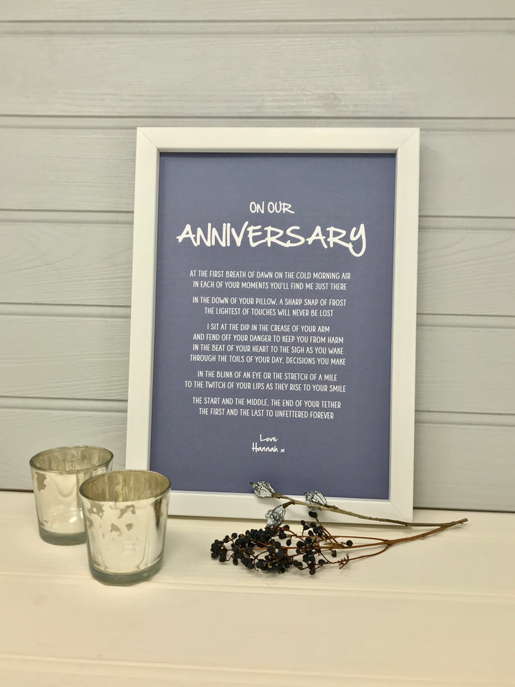 romantic anniversary gift for husband