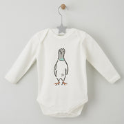 london pigeon Babygrow by shmuncki