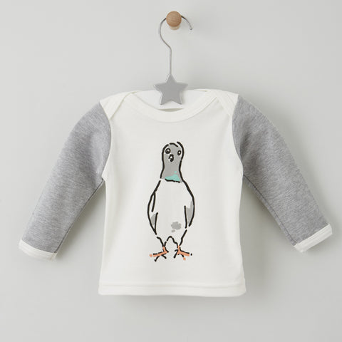 'Nelson The London Pigeon' Long Sleeved Top