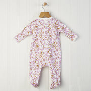 back of long sleeved baby romper size 0-6 months