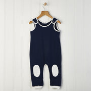 baby boy dungarees with patches 6-12 months