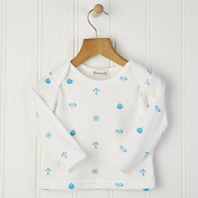 baby boy long sleeved top