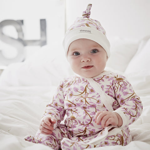 Woodland Baby Grow & Hat Set