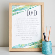 fathers day poem for dad