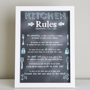 Gift for Mum 'Kitchen Rules'