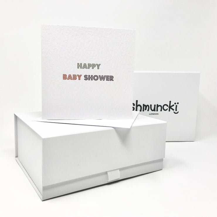 Baby shower gift with card