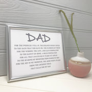 worlds best dad print