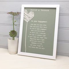Engagement poem