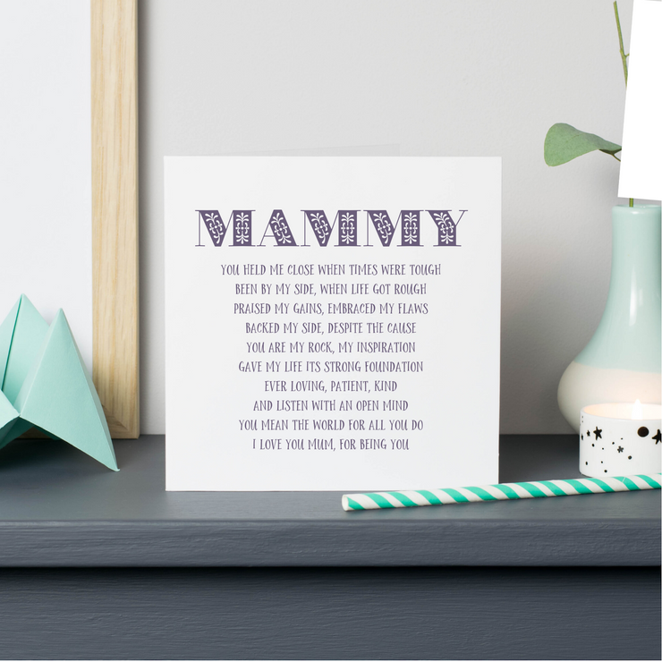 mammy mothers day card