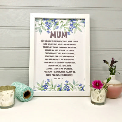 personalised mum gift