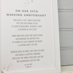 gift for husband on 20th wedding anniversary