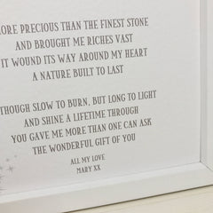 personalised 20th wedding anniversary poem