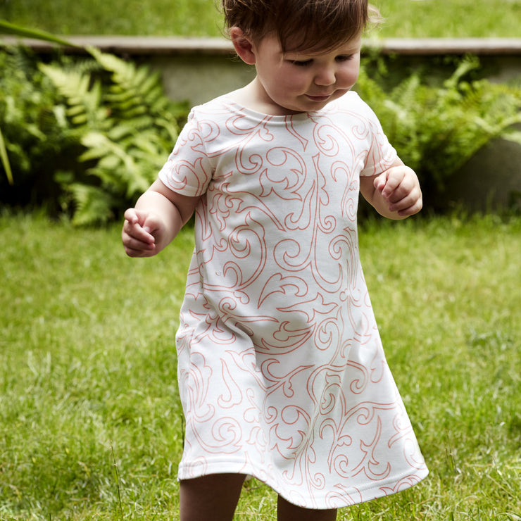 short sleeved baby dress 12-18 months