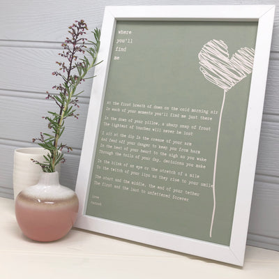 love poem gift for boyfriend