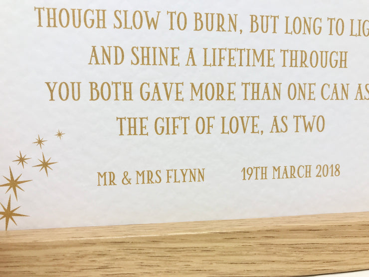 On Your Golden Wedding Anniversary Poem