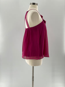Rebecca Taylor Sleeveless Silk Top, Size 4