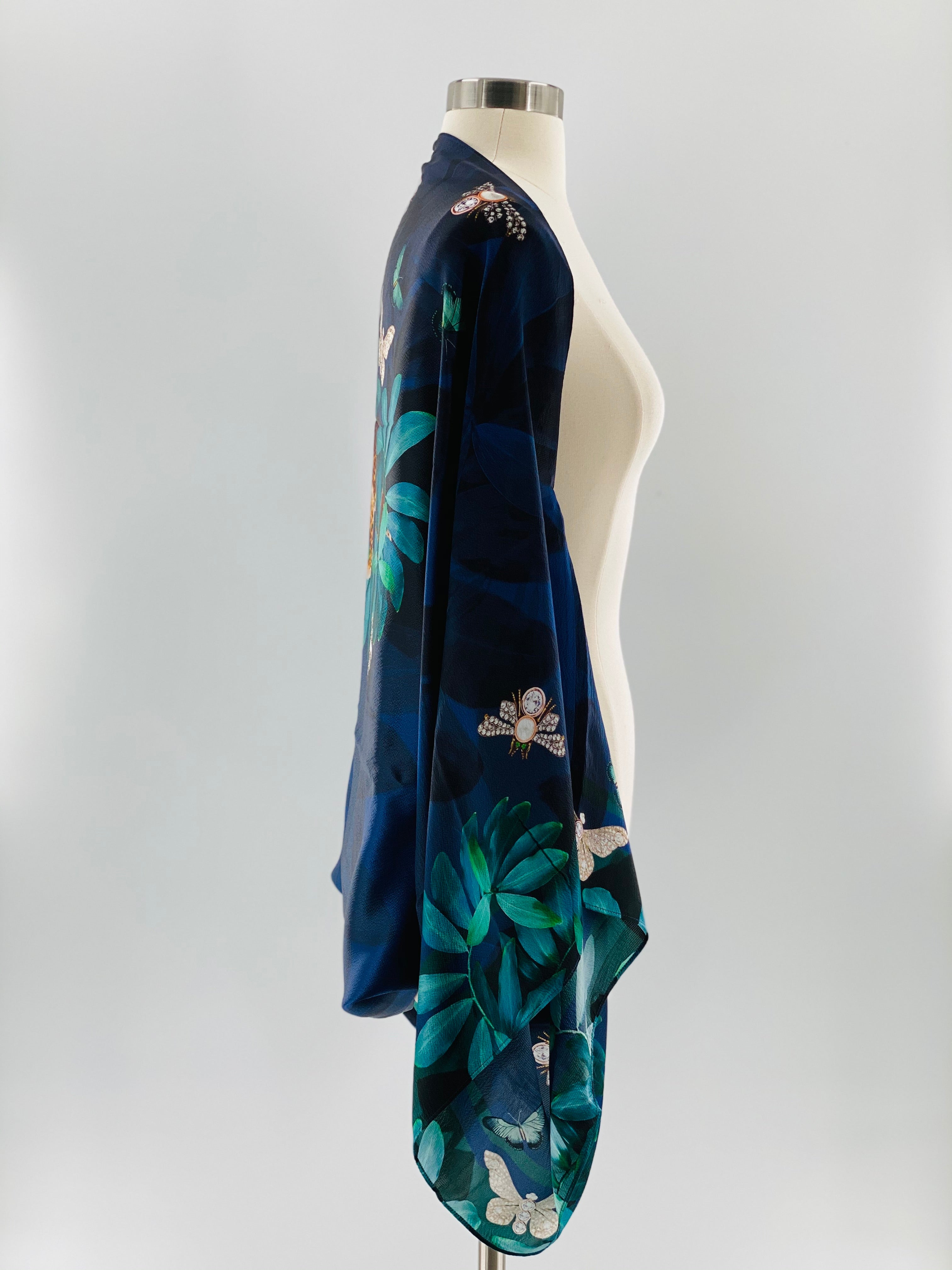 Ted Baker Houdini Silk Cape Scarf, One size Fits women's Sizes 4-14