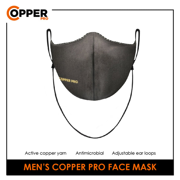 Men's Copper Pro Face Mask