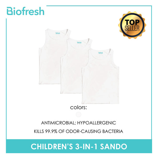 Biofresh UCSSGP3 Children's Sando 3 pieces in a pack