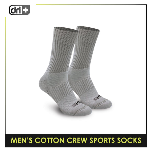 Dri Plus DMM0401 Men's Thick Cotton Crew Sports Socks 1 pair