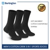 Burlington BML-223 Men's Thick Cotton Sports Socks 3 pairs in a pack