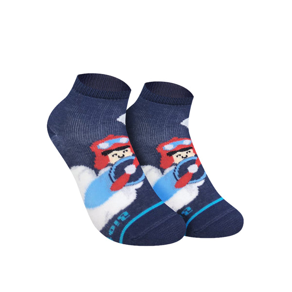 Biofresh RBCG0101 Children's Ankle Casual Socks 3-in-1 Pack