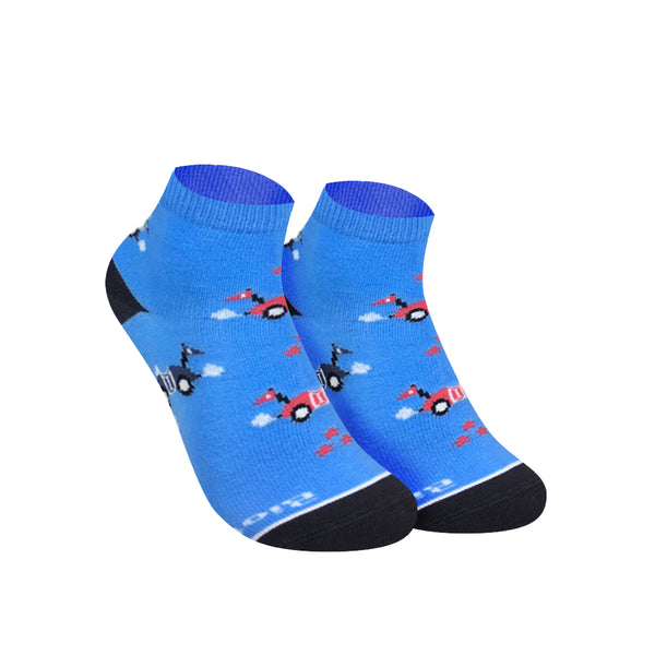 Biofresh RBCG0102 Children's Ankle Casual Socks 3-in-1 Pack