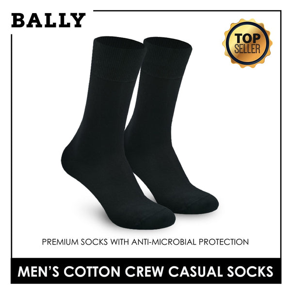 Bally YMCK10 Men's Cotton Crew Casual Socks 1 pair