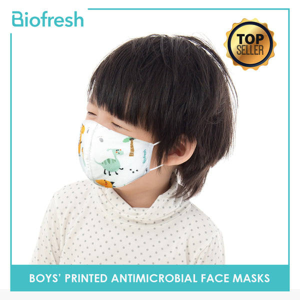 Biofresh RBSMASK Boy Children's Washable Anti-Microbial Face Masks 1 Piece