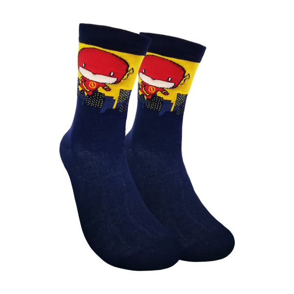 The Flash Crew Length Socks