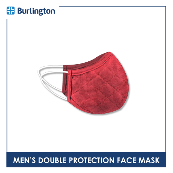 Burlington VMMASK Men's Double Protection Face Mask 1 Piece