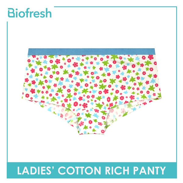 Biofresh ULPQ Ladies Cotton Rich Panty 3 pcs in a pack