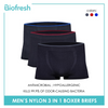 Biofresh UMBBG10 Men's Seamless Boxer Brief 3 pieces in a pack