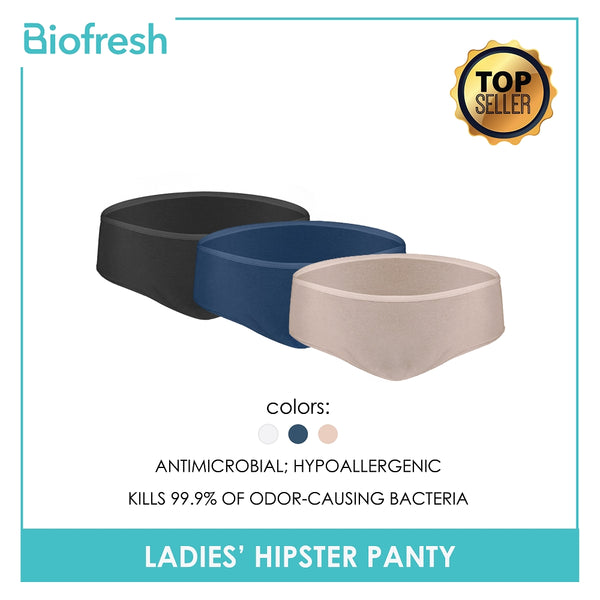 Biofresh ULPHG8 Ladies Hipster Panty 3 pieces in a pack