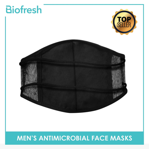 Biofresh RMMASK1 Men's Washable Anti-Microbial Headloop Face Mask 1 Piece