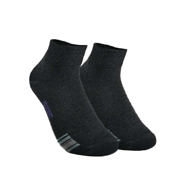 Microban VLCKG11 Ladies' Ankle Casual socks 3in1 pack