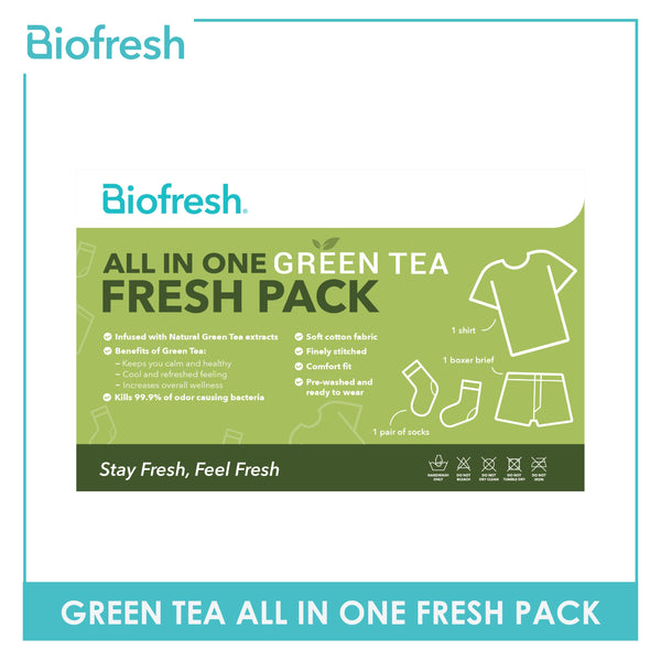 Biofresh RTMBUNDLE Green Tea All In One Fresh Pack 1 Set
