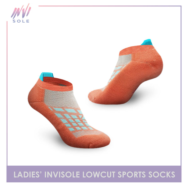 Burlington XLVS9305 Ladies Invisole Low Cut Socks
