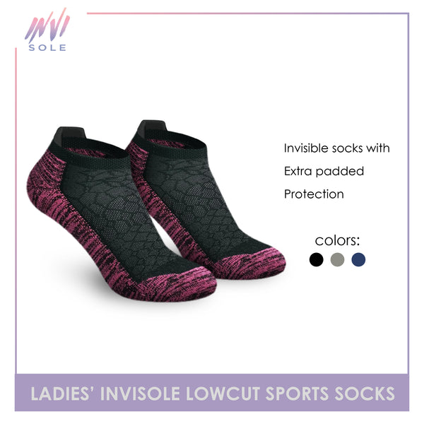 Burlington XLVS9407 Ladies Invisible Low Cut Socks 1 Pair